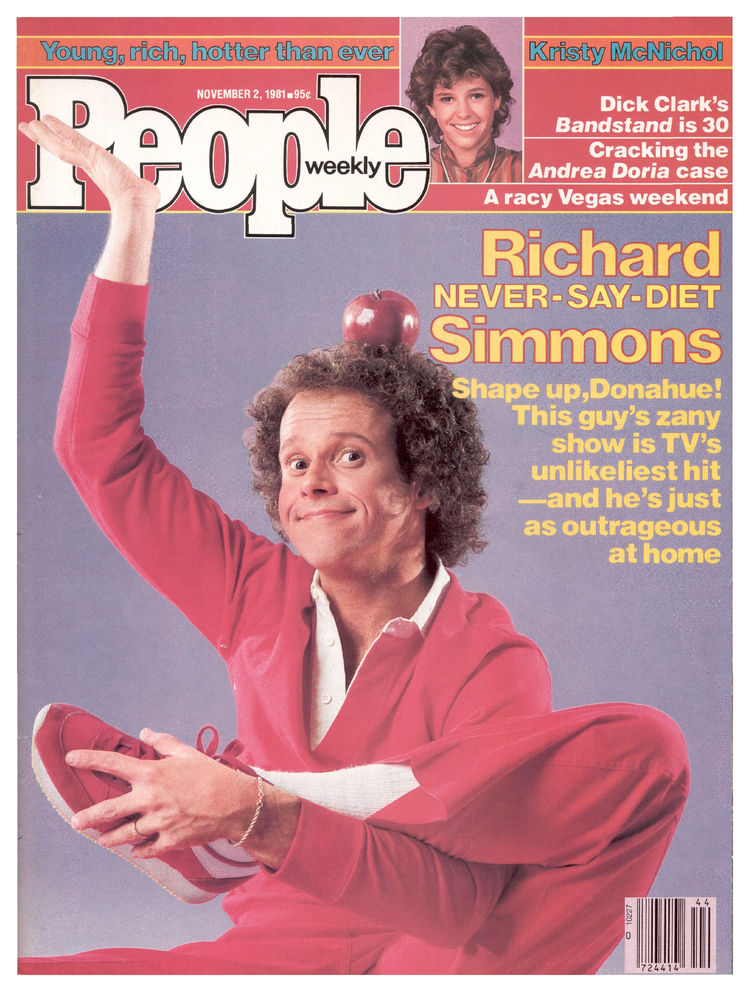 Richard Simmons (Nov. 2, 1981): The fitness guru got limber on a 1981 cover.
