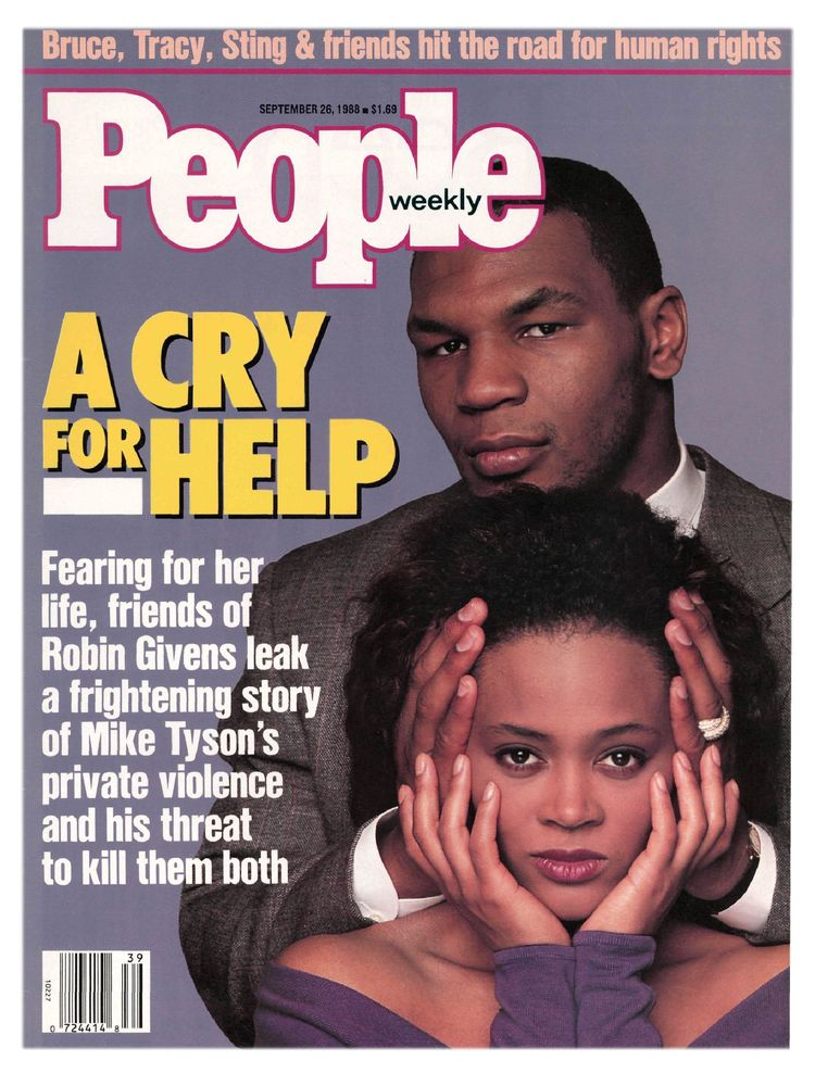 Mike Tyson (Sept. 26, 1988): The Tyson-Givens drama commanded public attention throughout 1988.