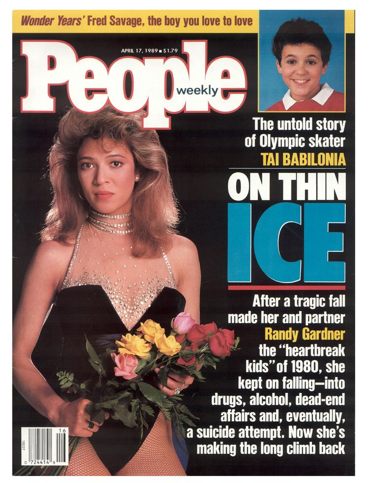 Tai Babilonia (Apr. 17, 1989): The five-time U.S. national champion pairs skater told all for a cover story nearly a decade after her last Olympics. (And, hey, Fred Savage!)