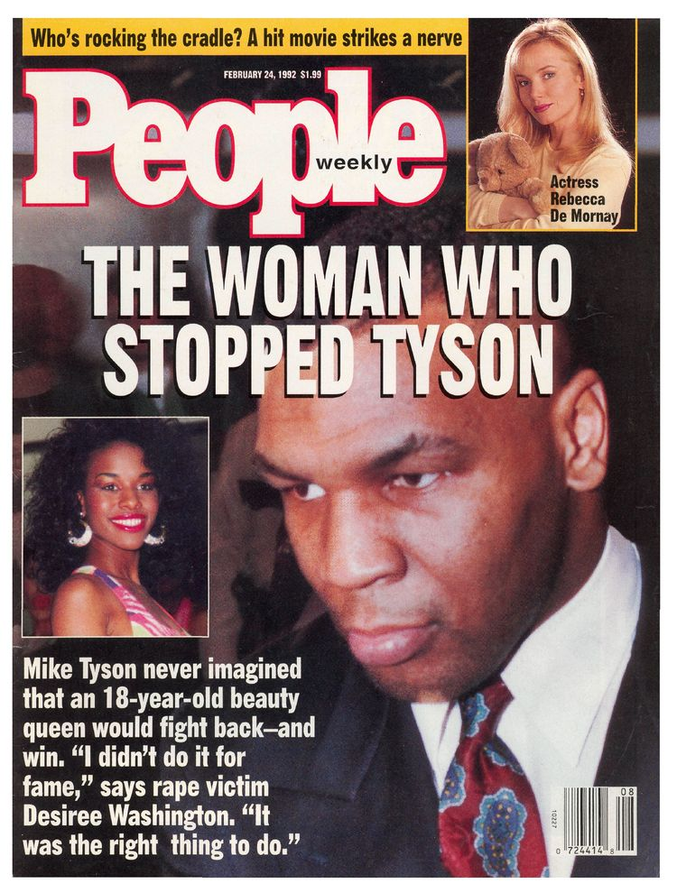 Mike Tyson (Feb. 24, 1992): The former heavyweight champ's final People cover appearance came just after his rape conviction.