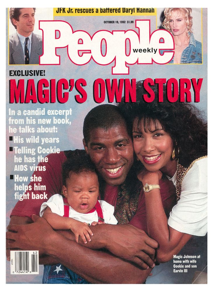 Magic Johnson (Oct. 19, 1992): The former NBA star spoke out about his wild past and experience with AIDS.