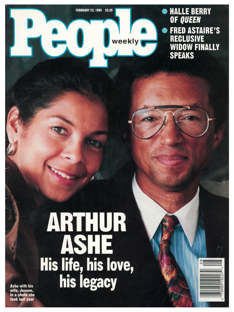 Arthur Ashe (Feb. 22, 1993): The tennis great and advocate for HIV and AIDS awareness appeared on the cover posthumously.