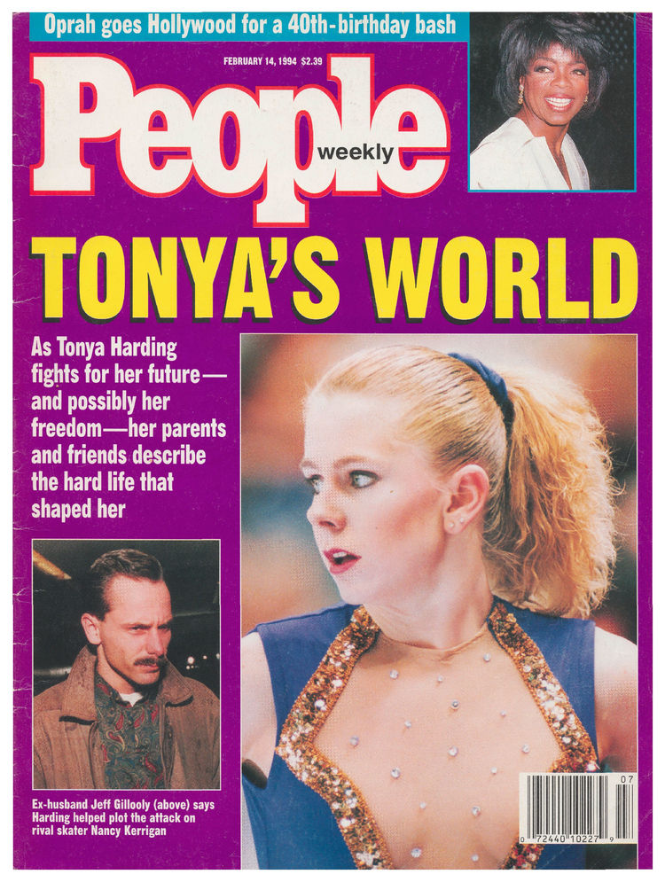 Tonya Harding (Feb. 14, 1994): … and then Harding ahead of the Lillehammer Olympics.