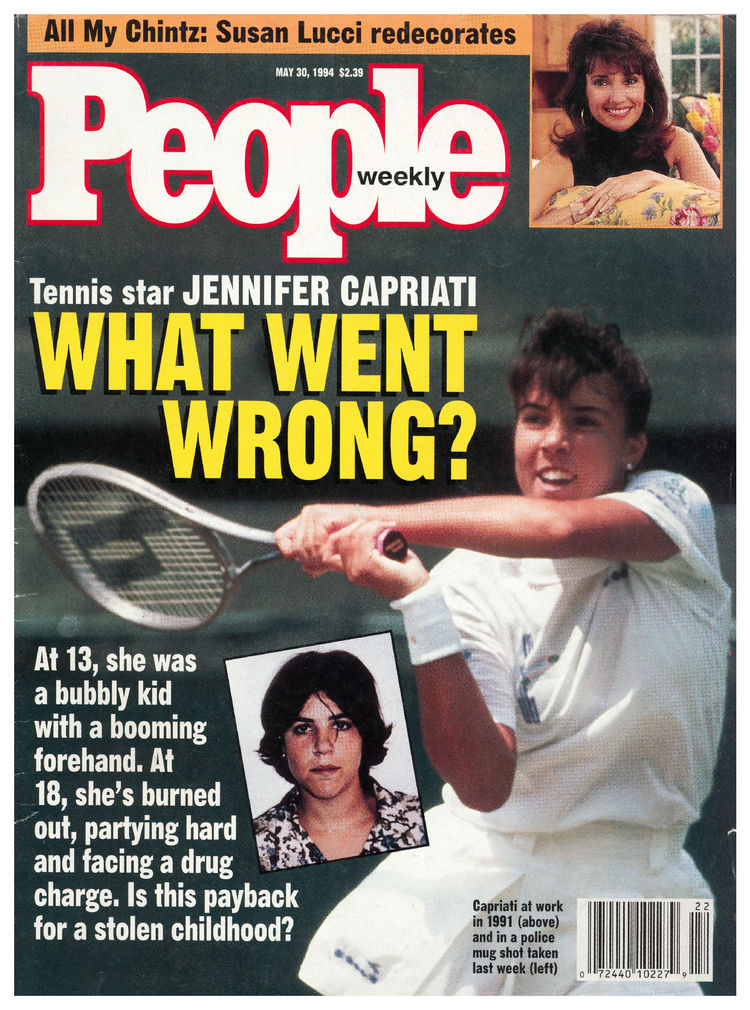 Jennifer Capriati (May 30, 1994): Nothing makes for a more salacious headline than a fallen hero.