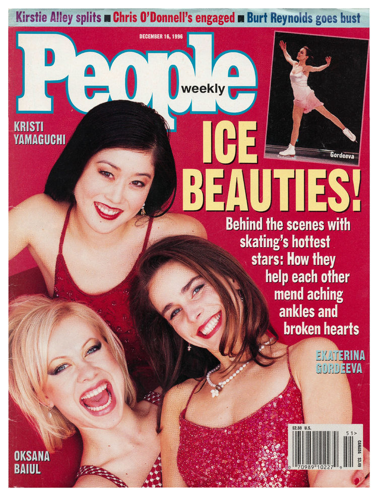 Olympic skaters (Dec. 16, 1996): The drama with Olympic athletes is often just as juicy off the ice.