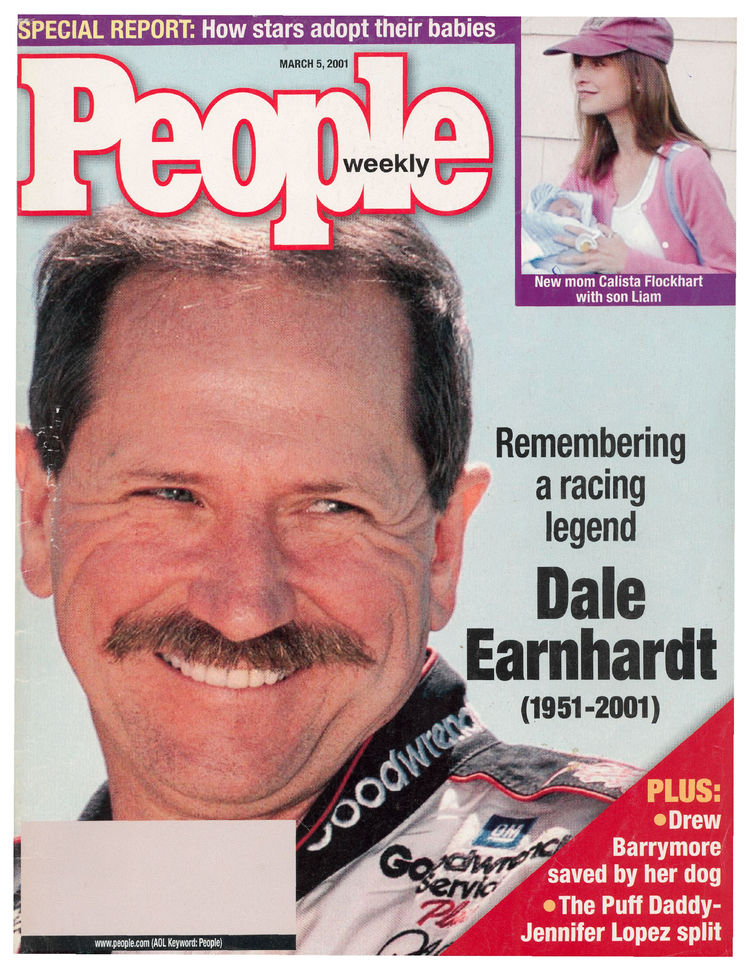 Dale Earnhardt (Mar. 5, 2001): The racing legend appeared on the cover after his untimely passing in a Daytona 500 crash …
