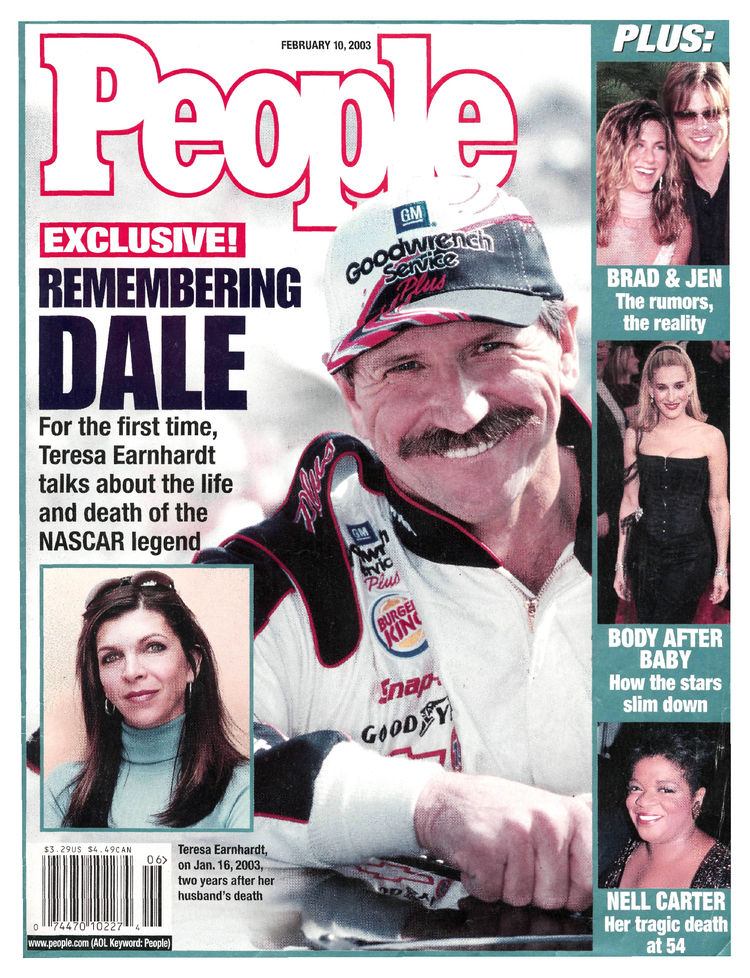 Dale Earnhardt (Feb. 10, 2003): … then again two years later.