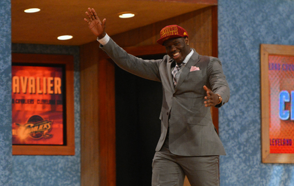 Anthony Bennett was overjoyed when he went No. 1 to the Cavaliers.
