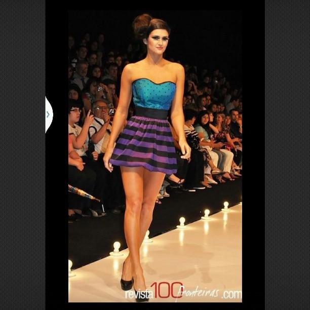 @lerynf: #recuerdos #fashionweek @emmaviedma diseñadora paraguaya !!!