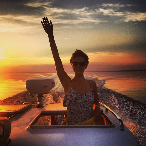 @emilydidonato1: Sunset St. Petersburg at almost 11pm! #whitenights @sbermood @imgmodels #russia