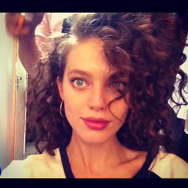 @emilydidonato1: Some serious #80s hair today