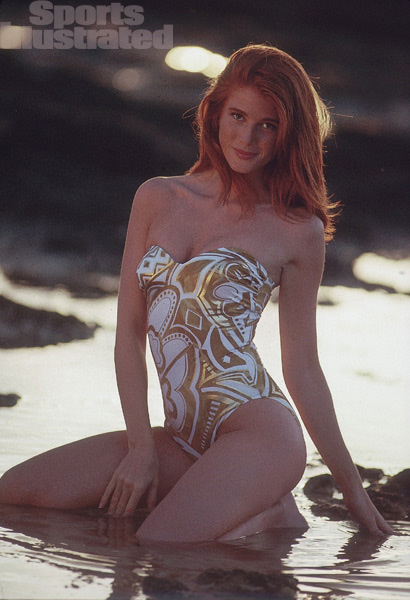 Angie Everhart :: Robert Huntzinger/SI