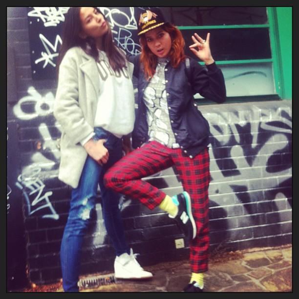 @iamjessicagomes: Wearing @lmworkroom #leemathews coat @nobodydenim jeans & @bonchelaa #melbourne #street