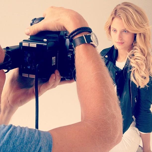 @katelynnebock: Behind the scenes post shoot shot