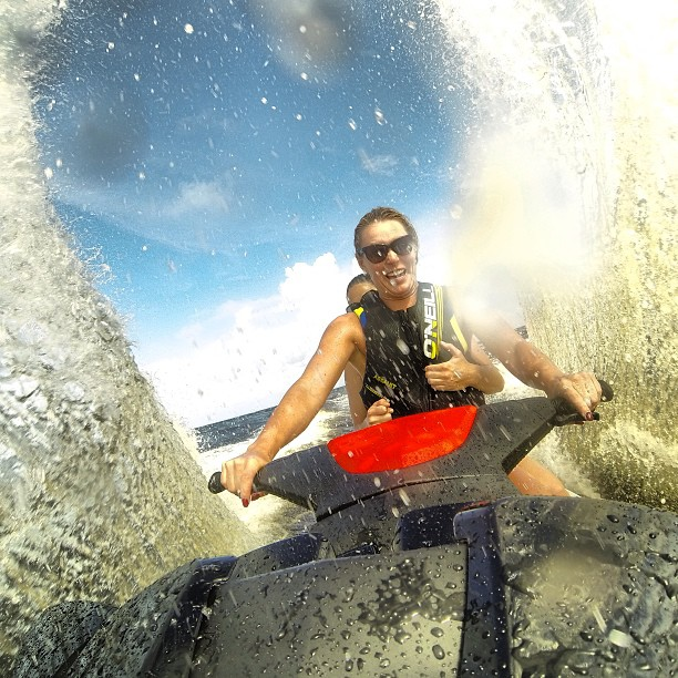 @lindseyvonn: Having fun on the jet ski with my @gopro! #adrenalinejunky #jetski #goprogoeseverywhere