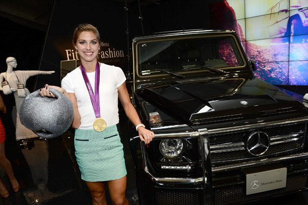 Alex Morgan :: Michael Buckner/Getty Images