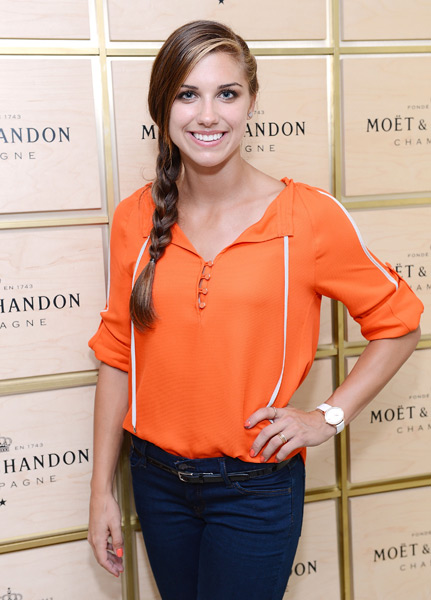 Alex Morgan :: Michael Kovac/Getty Images