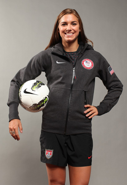 Alex Morgan :: Nick Laham/Getty Images