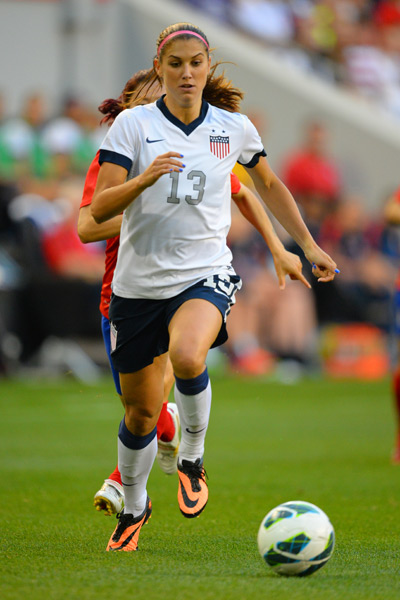 Alex Morgan :: Rich Kane/Icon SMI