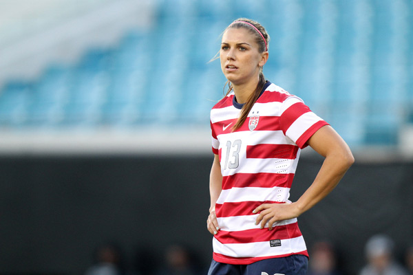 Alex Morgan :: Andy Mead/YCJ/Icon SMI