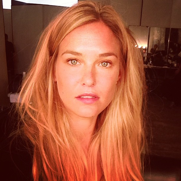 @barrefaeli: Shooting for @harpersbazaarus in NYC