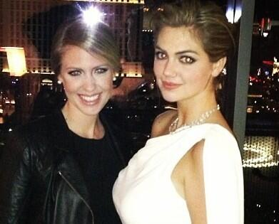‏@KateUpton: Happy birthday to my sister @ChristieU !!! I love you!