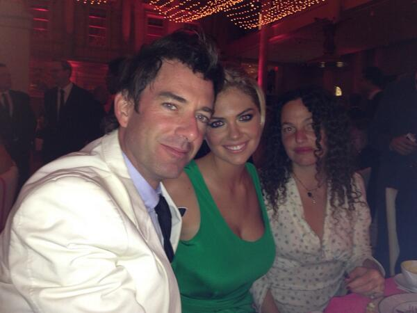 @KateUpton: Met gala @davidnettosays and @baitntackleme