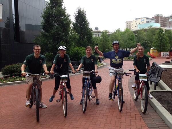 RT @LauraAUpton:                              Enjoyed entering a bike race with family 15 miles for a fundraiser against skin cancer! :)  #granfondo