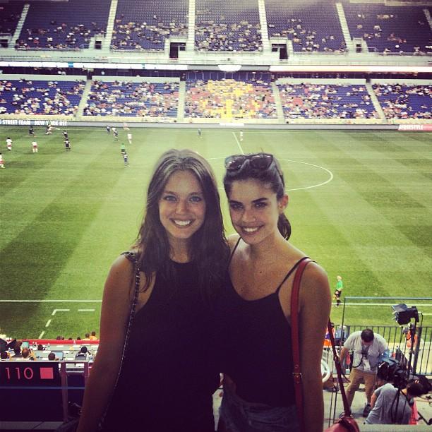 @emilydidonato1: @sarasampaio NY Red Bulls vs Lyon
