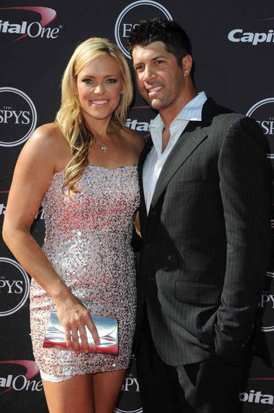 Jennie Finch and Casey Daigle :: Allen Berezovsky/WireImage