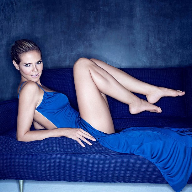 @heidiklum: Are you ready for Blue?