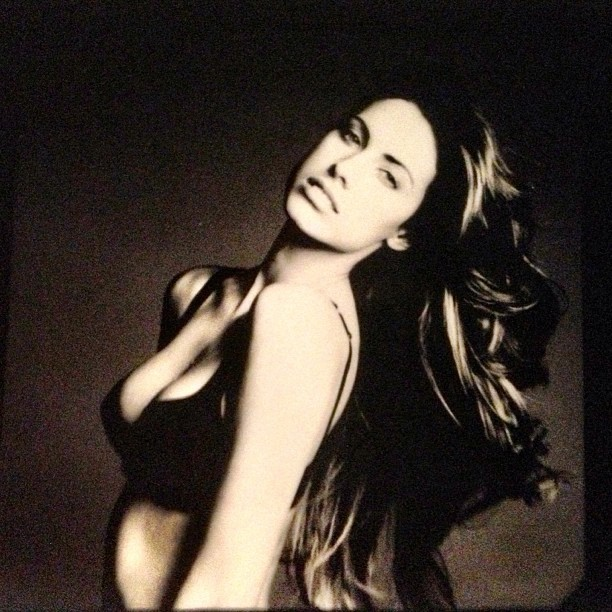 @_katherinewebb: Polaroid bts Vanity Fair mag shoot