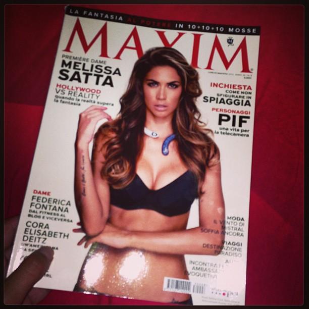 @sattamelissa: Finalmente l'ho trovato!!! #maxim #2013 #luglio #agosto