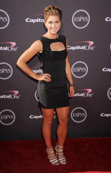 Alex Morgan :: Frederick M. Brown/Getty Images for ESPY