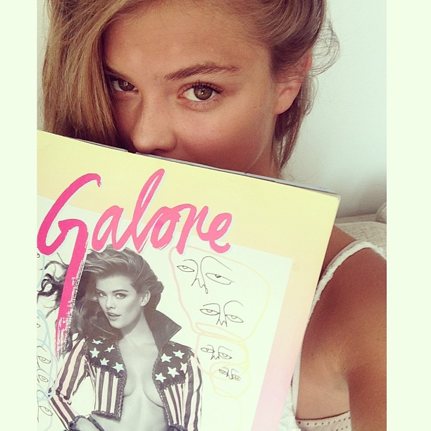 @ninaagdal: @kittengalore @princeandjacob brought the magazine with me to Denmark. You guys are coming with me next time!