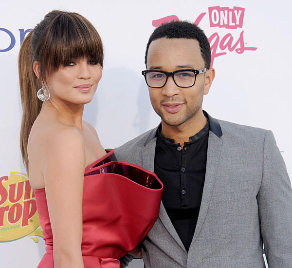John and Chrissy attend the 2012 Billboard Music Awards ::  Gregg DeGuire/WireImage
