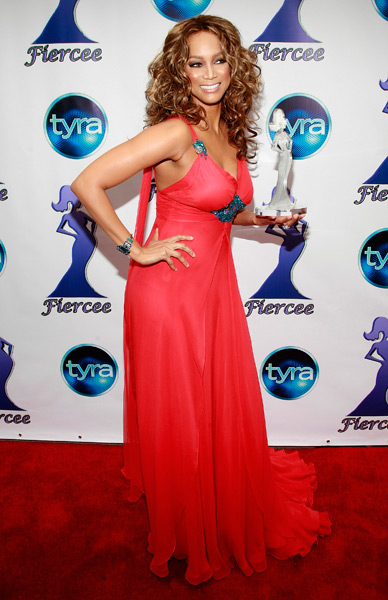 "Banks arrives at the 1st Annual Fiercee Awards honoring the women of ""America's Next Top Model"" in March 2008. (Charles Eshelman/FilmMagic)"