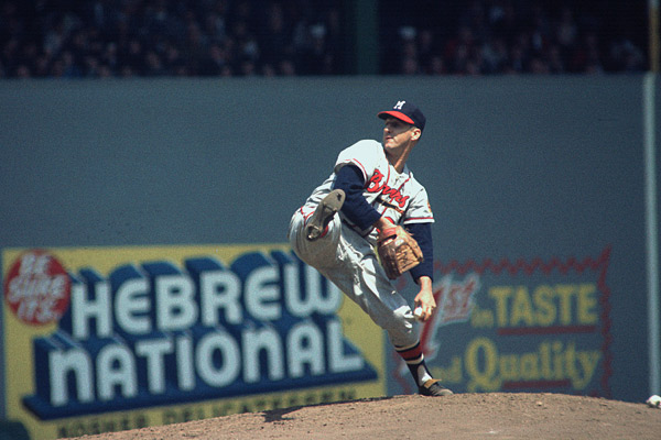 Warren Spahn (Focus on Sport/Getty Images)