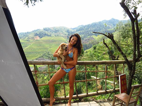Jessica Gomes :: 2013, China