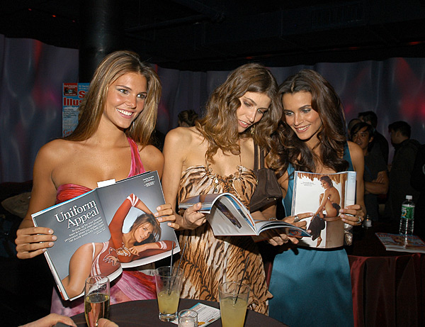 Daniella Sarahyba,  Michelle Alves and Fernanda Motta :: Jamie McCarthy/WireImage