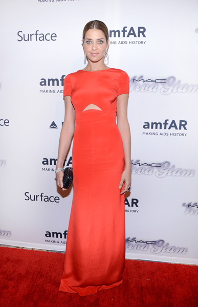 Ana Beatriz Barros attends the 4th Annual amfAR Inspiration Gala New York :: Michael N. Todaro/FilmMagic