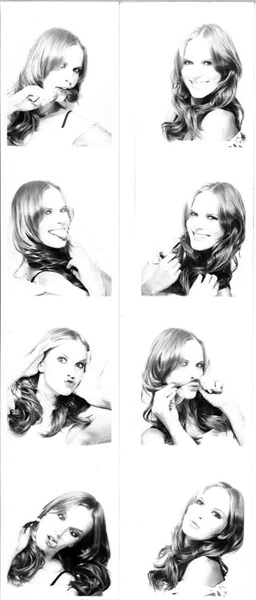 Anne V (photo booth, 2005)