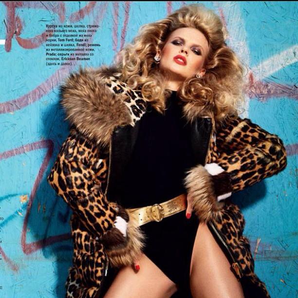 @annev_official: Inside my @Glamour_russia cover shoot! @david_roemer @mashildaglam @nikimnray @riadazar9 @alikavoussi