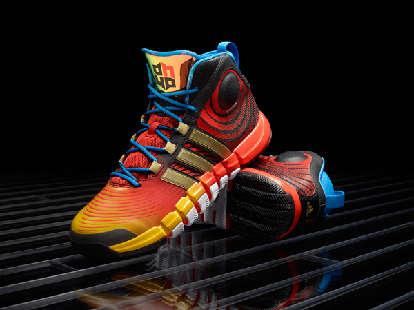 buy popular 7f6a1 2cf62 The D Howard 4 is the latest Adidas signature shoe for Rockets center Dwight  Howard.