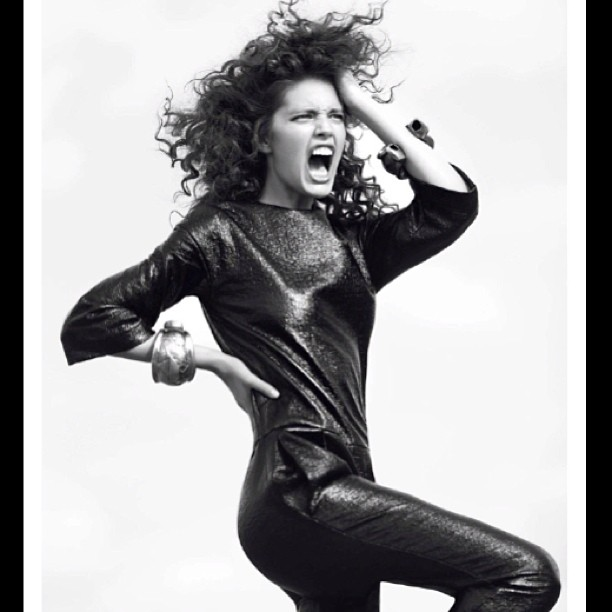 @emilydidonato1: @vogueparis by David Bellmere