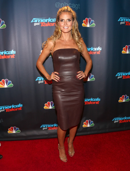 "Heidi Klum attends  a ""America's Got Talent"" Season 8  Red Carpet Event :: Paul Zimmerman/WireImage"