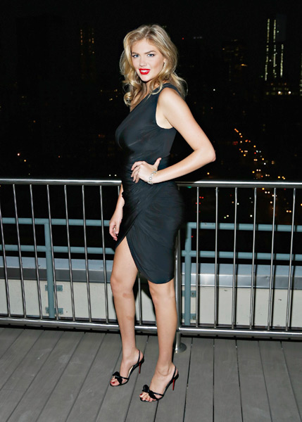 Kate Upton attends the David Yurman Annual Rooftop Soiree in NYC :: Cindy Ord/Getty Images