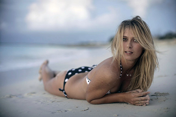 Maria Sharapova :: Walter Iooss Jr./SI