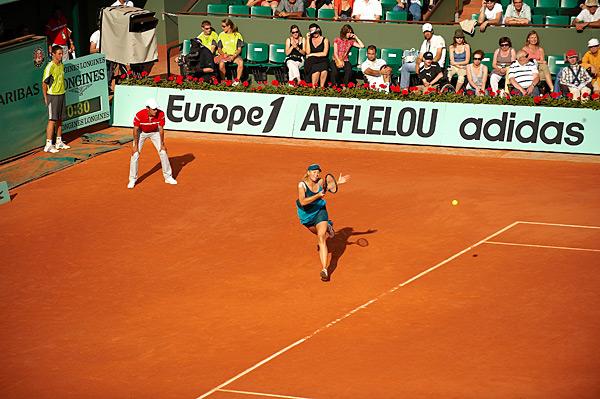 Maria Sharapova :: Bob Martin/SI