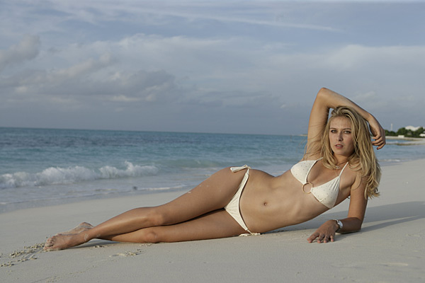 Maria Sharapova :: Walter Iooss Jr./SI (2006)